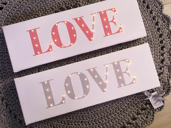 LOVE wall decor, Light up LOVE, Wedding decor, Wedding love sign, Wedding photo