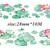 1 Roll of Limited Edition Washi Tape: Lotus pond