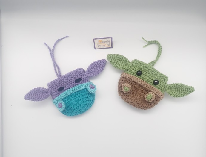 Alien Pouch- Crochet Pouch/Bag Pattern PDF