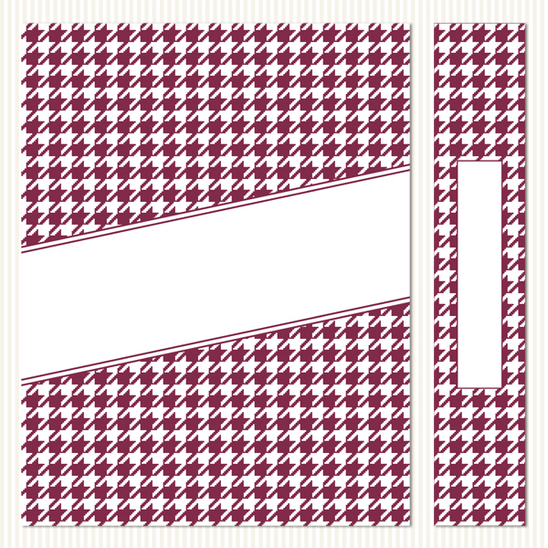 Printable Binder Covers & Spines_Houndstooth Set 2