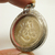 Lakshmi Ganesh Coin Pendant bless in 1980s Hindu amulet Locket Om Aum and