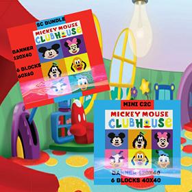 Clubhouse Faces-Mini C2C-7 Patterns-Full Bundle