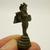 Naga Kanya mini figurine 1970s India statue Guardian Goddess of the Three Realms