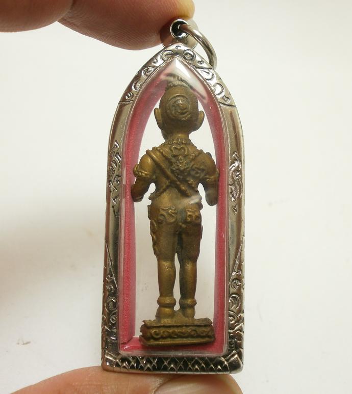 Guman kuman thong boy LP Larp blessed in 1961 magic spirit Thai amulet pendant