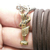 Monkey King Sun Wukong Chinese Tiny brass pendant rope necklace magic talisman