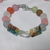 Multiple style glass beads in multiple colors necklace and bracelet set