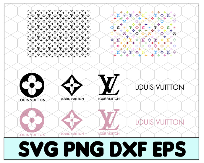 Louis Vuitton Svg Lv Bundle Brand Logo By Svgbundleshop On Zibbet