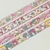 4 Rolls of Japanese Sanrio Characters Washi Tape Roll- Hello Kitty, My Melody,