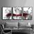 Digital print, decor wall art abstract, set of 3 wall art , Abstract large,