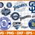 San Diego Padres,MLB svg,baseball svg file,baseball logo,MLB fabric,MLB