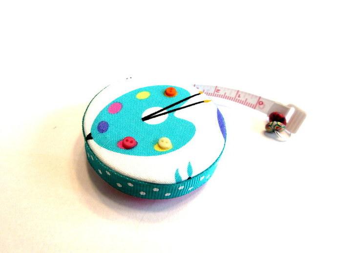 Measuring Tape Artist Palette Small Retractable Tape Measure