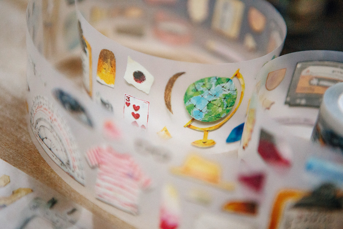 OURS Paper Craft - Stuff washi tape - perfect for journaling & happy mail