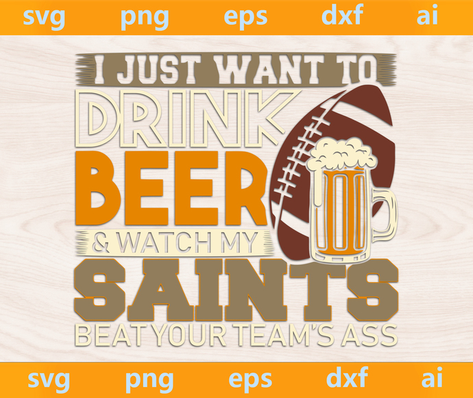 Saints svg, Saints ai, Saints png, Saints eps, Saints dxf, Saints Silhouette,