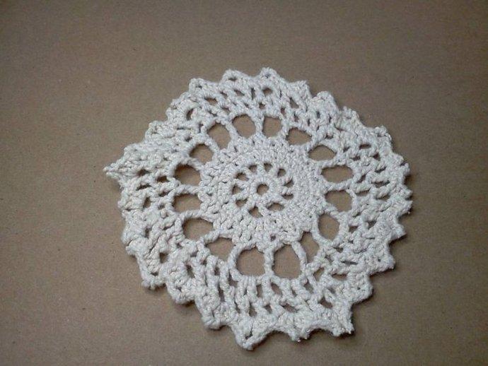 Cream Crochet Doilies*