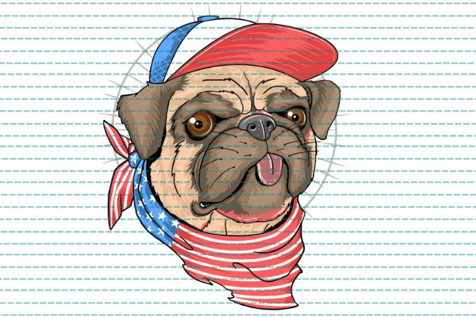 Usa flag dog, dog svg, dog owner, dog lover, dog print, dog art, ,independence