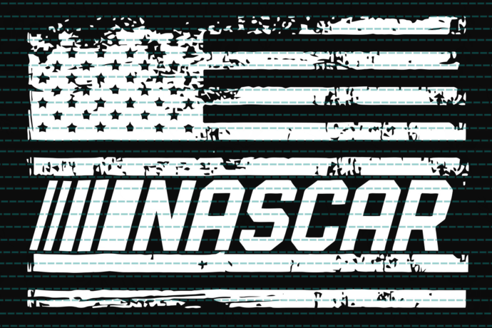 Nascar flag, black and white,independence day svg, 4th of july, funny 4th of
