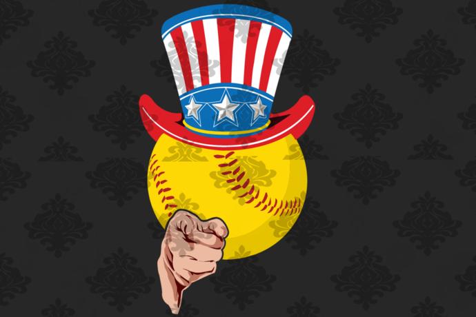 Softball uncle sam, softball svg, softball gift svg, softball party , softball