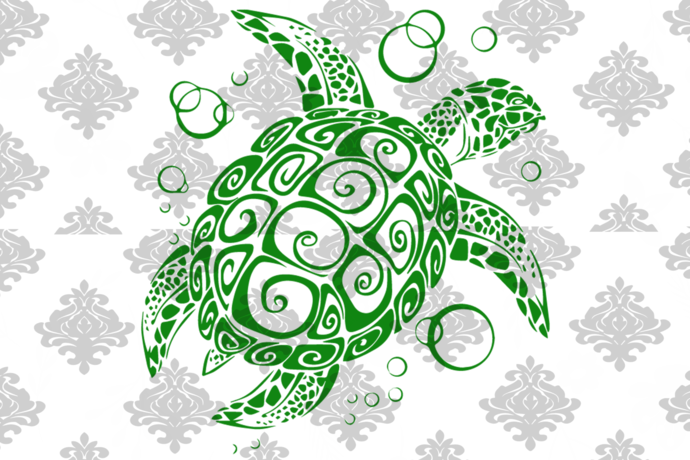 Sea turtle svg, green tea turtle svg, sea turtle vector, beach sea turtle,
