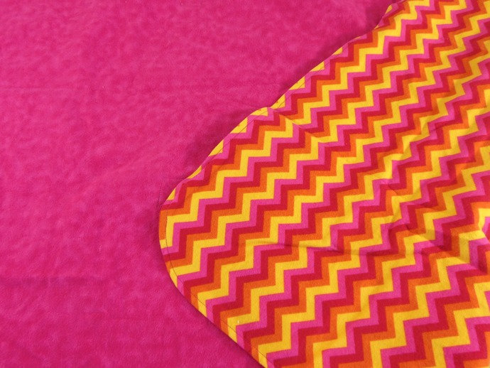 WINTER SALE 25%OFF Pink Yellow Chevron Baby Car Seat Canopy, Pink Chevron Baby