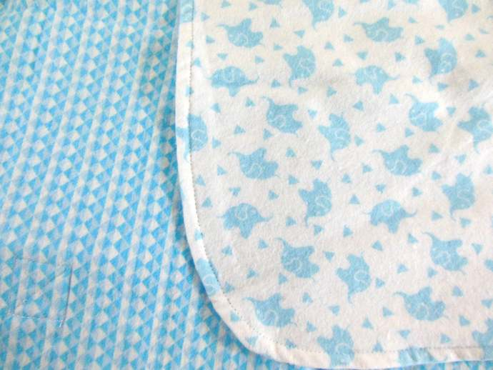 Blue Elephant Baby Car Seat Canopy, Elephant Car Seat Cover, Elephant Cart
