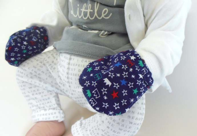 Swaddle Sack, Sleep Sack, Cocoon, Blanket & Scratch Mittens in Prince Crowns
