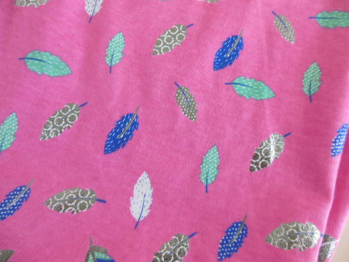4 in 1 Pink Feather Stretchy Baby Car Seat Canopy, Pink Feather Nursing Cover,