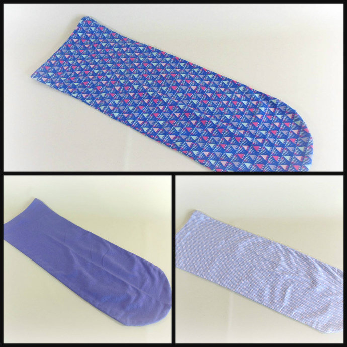 Set of 3 Purple Swaddle Sacks, Purple Sleep Sack Set, Purple Cocoon Set, Purple