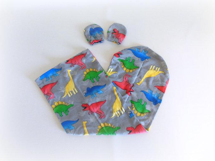 Dinosaur Swaddle Sack, Dinosaur Sleep Sack, Dinosaur Cocoon, Donosaur Baby