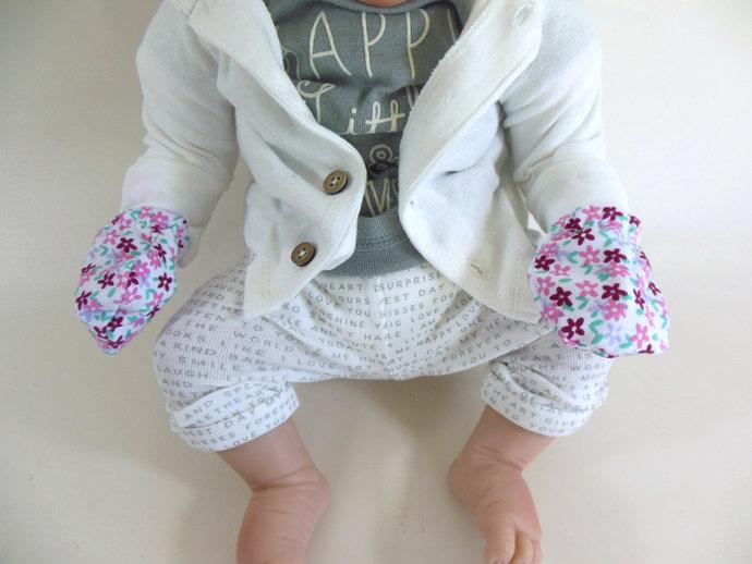 Pink Flower Swaddle Sack, Flower Sleep Sack, Pink Cocoon, Baby Blanket, Baby