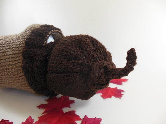 Custom Made to Order Acorn Cocoon Set, Sleep Sack Set, Photo Prop