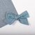 Winter Blues Collection - Medium Lizzy Bow - Frost