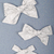 Winter Blues Collection - Medium Lizzy Bow - Primaveral