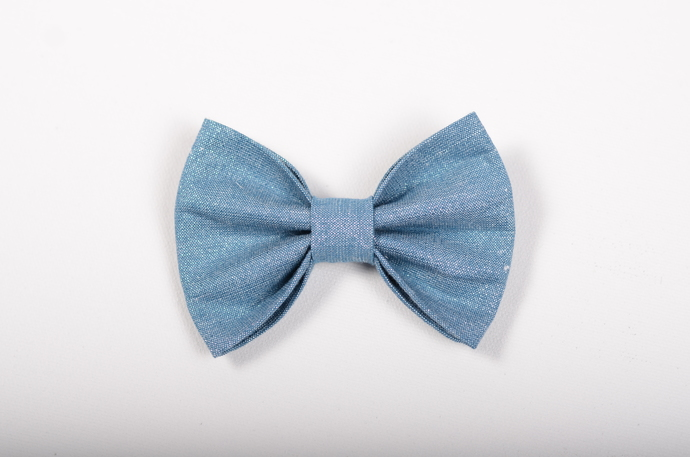 Winter Blues Collection - Avery Bow - Frost