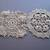 Ecru Crocheted doilies*