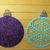 5Pc Christmas Ornament Set Xmas Bulbs
