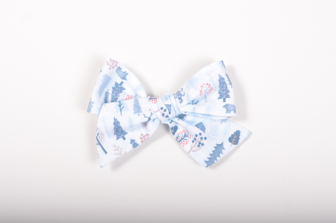 Winter Blues Collection - Large Lizzy Clip - Heimal
