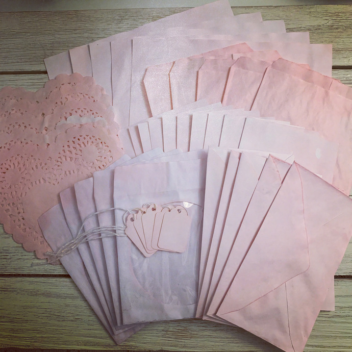 Candy Pink Paper Pack