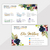 Personalized Rodan and Fields Business Cards, Rodan Fields Business Card, Floral