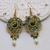 Earrings Tutorial - Ashelia - Beading Pattern - Beadweaving Tutorial - PDF
