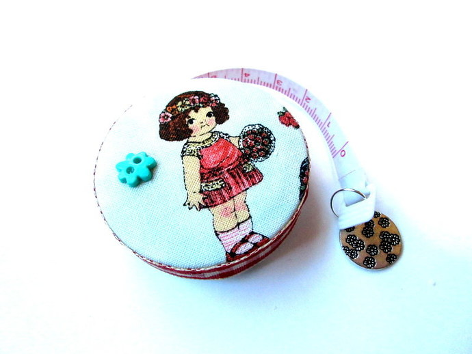 Retractable Tape Measure Vintage Dolls Small Measuring Tape