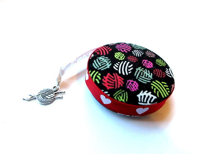 Tape Measure All About Knitting Small Retractable Measuring Tape
