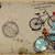 Bicycle Built for One Vintage Printable Junk Journal Kit