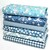 Little Foxes fat quarter fabric bundle - Forest Fabrics in 100 % cotton -