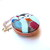 Measuring Tape Pattern Print Foxes Small Retractable Tape Measure