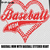 Baseball Mom with Stitched Baseball Heart Quote Typography crochet graphgan