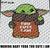 Cute Baby Yoda Star Wars Television Movie Character crochet graphgan blanket
