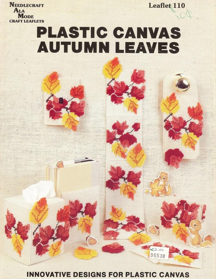 Needlecraft Ala Mode Leaflet 110 Autumn Leaves