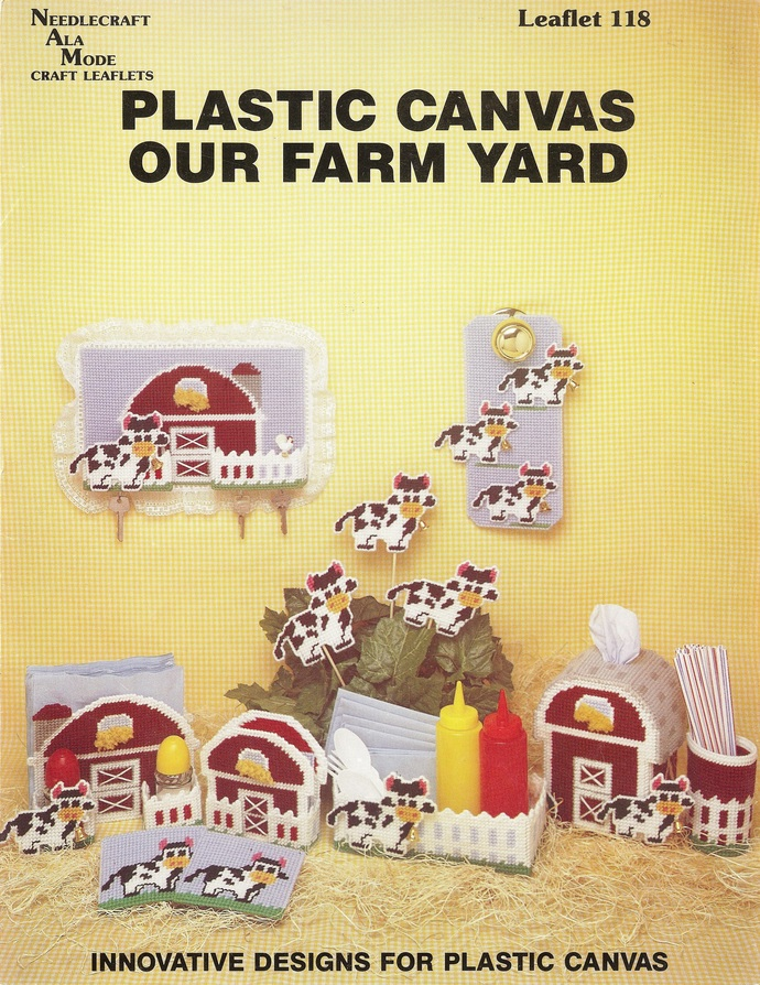 Needlecraft Ala Mode Leaflet 118 Our Farm Yard