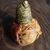A Halloween Friend - Pumpkin Gourd - Paper Clay - Autumn Decoration