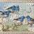 Bluebirds of Happiness Digital Collage Greeting Card2614